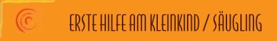ERSTE HILFE - Crashkurs Notfälle bei Säuglingen und Kleinkindern